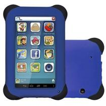 Tablet Multilaser Kid Pad 8GB, android 4.4, Camera de 2mp Nb194 - Azul