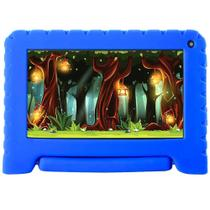 "Tablet Multilaser Kid Pad GO 7"" 16GB  Quad Core Android 8.1 Azul - NB302 -"