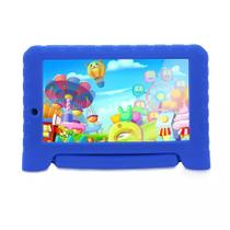 Tablet Multilaser KID PAD Plus Azul 1GB RAM Android 7 Dual Câm 1.3/2MP Tela 7 8Gb Bluetooth NB278