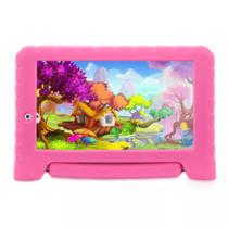 Tablet Multilaser Kid Pad Plus Rosa 1GB Android 7 Pol Wifi M