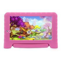 Tablet Multilaser Kid Pad Plus Rosa 1Gb Android 7 Wifi Memória 8Gb Quad Core Multilaser - NB279