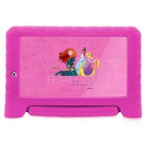 Tablet Multilaser Kids Plus Princesas da Disney Rosa - NB281