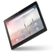 "Tablet Multilaser M10A 3G Quad Core Android 9 Pie Dual Câmera 10"" 32Gb Bluetooth Preto NB331 -"