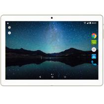 Tablet Multilaser M10A Lite 3G Quad Core Dual Câm 2/5MP 10'' 8Gb Bluetooth Branco/Dourado NB268