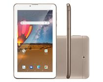 Tablet Multilaser M7 3G Plus 16GB Dual Chip 1GB RAM Tela 7 Dourado -