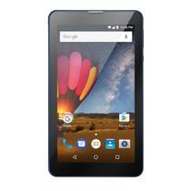 Tablet Multilaser M7 3G Plus 1GB 8GB Quad Core Dual Câmera Tela 7 Dual Chip Azul - NB270 -