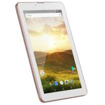 """Tablet Multilaser M7 4G Plus Android 8.1 Oreo Go 8GB Quad Core 1GB RAM 7"""" Polegadas NB286 Rosa -"""
