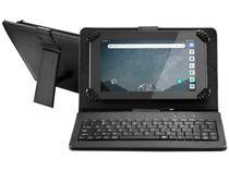 "Tablet Multilaser M7S Go com Teclado 7"" Wi-Fi 16GB - Android 8.1 Quad-Core Câm. Integrada"