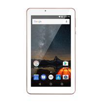 Tablet Multilaser M7S Plus Quad Core Câmera Wi-Fi 1 Gb De Ram Tela 7 Pol. Memória 8Gb Rosa - NB275 -