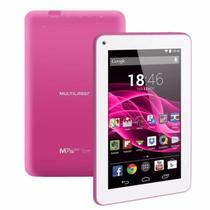 Tablet Multilaser M7S Rosa Quad Core Android 4.4 Wi-Fi Tela 7