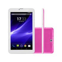 Tablet Multilaser M9 Dual Chip 3G Android 6.0 8GB Quad Core - NB248 - Rosa
