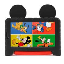 "Tablet Multilaser Mickey Mouse Plus Preto com 7"", Wi-Fi, Android 8.1, Processador Quad-Core 1.5 GHz e 16GB -"