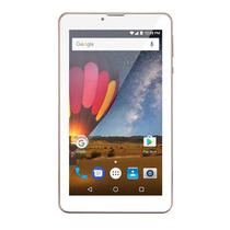 Tablet Multilaser NB271 M7 3G Plus Android 7.0 Quad Core 1.3 8Gb 7Pol Rosa