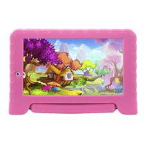 Tablet Multilaser Nb279 Kid Pad Plus Android 7.0 Quad Core 8Gb 7Pol Rosa