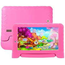 Tablet Multilaser NB279 Kids Pad Plus Rosa, Tela 7