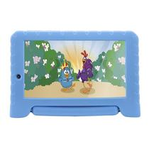 Tablet Multilaser Nb282 Galinha Pintadinha Plus Android 7.0 Quad Core 8Gb 7Pol Azul