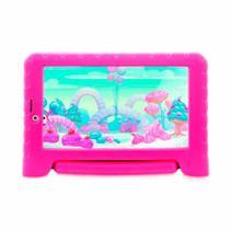 "Tablet Multilaser NB292 Kid Pad Plus 16GB 1GB RAM 7"" Wi-Fi 3G Câmera Frontal 2MP Android 8.1 - Rosa -"
