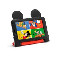 Tablet Mutlilaser M7S Plus NB314 Mickey Mouse Quad Core 1GB RAM Dual Câm 1.3/2MP Tela 7