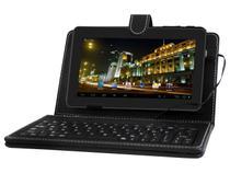 "Tablet Phaser PC709S 4GB Tela 7"" Wi-Fi Android 4.0 - Processador AllWinner A13 Câmera Frontal"