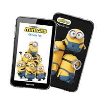"""Tablet Positivo Twist Tab Minions T770KM 32GB, Wi-Fi, Tela 7"""" Preto -"""