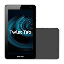 Tablet Positivo Twist Tab T770 Cinza - Tela 7'' 16GB Câmera 2MP Wi-Fi Android 8 Quad Core 1.5 GHz -