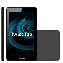 Tablet Positivo Twist Tab T770B, Cinza, Quad Core, 32GB, WI-FI, Tela de 7'' -