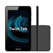 "Tablet Positivo Twist Tab T770C 32GB Tela 7"" Wi-Fi Quad Core 1.5 GHz Android Oreo  Cinza -"