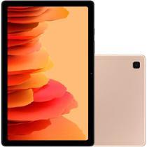 """Tablet Samsung Galaxy SM-T505 A7 4G, 64GB, 3GB RAM, Tela Grande 10.4"""", Câmera Traseira 8MP, Câmera frontal de 5MP, Android Q - Dourado -"""