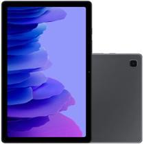 """Tablet Samsung Galaxy SM-T505 A7 4G, 64GB, 3GB RAM, Tela Grande 10.4"""", Câmera Traseira 8MP, Câmera frontal de 5MP, Android Q - Grafite -"""