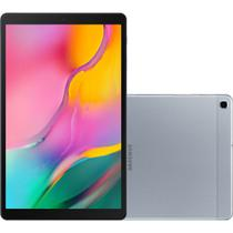 Tablet Samsung Galaxy Tab A, Wi-Fi, Bluetooth, Android 9.1, 32GB, 8MP, Tela de 10.1, Prata - T510 -