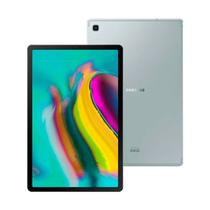"Tablet Samsung Galaxy Tab S5e T725 64GB Tela 10,5"" 4G Wi-Fi Octa-Core Câmera Traseira 13MP Selfie 8MP Prata -"
