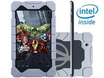 "Tablet Tectoy Avengers Assemble 8GB Tela 7"" Wi-Fi - Android 4.2 Proc. Intel Atom Dual Core Câm. 2MP"