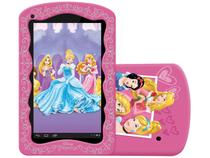 "Tablet Tectoy Princesas 8GB Tela 7"" Wi-Fi Android  - Proc. Quad Core Câmera 2MP + Frontal"