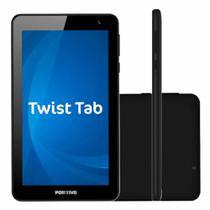 "Tablet Tela 7"" Android 8 Quad-core 1.5Ghz Wifi 16GB Positivo Twist T770KB Preto -"