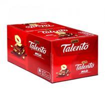 Tablete Talento Vermelho Avelã 90g c/12 - Garoto -