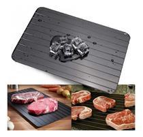 Tabua Bandeja Mágica Descongelar Carne Alimentos Congelados Rápido 35x20cm -