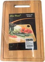 Tabua De Carne Bambu Churrasco Frios Petisco - 22x32cm - Show House