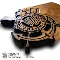 Tabua De Carne Corinthians 50x30x3,5cm, Chbr - Churrasco Brasil