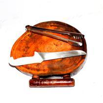 Tábua De Carne Super Resistente Madeira Rustica - Personal