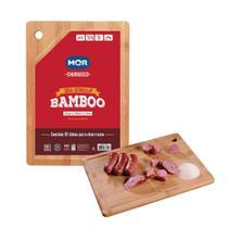Tabua de Cortar Carne Retangular em Bambu 35 X 25 Cm Mor -