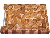 Tábua para Churrasco de Madeira Quadrada Tramontina 10101/050