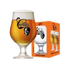 Taça de Cerveja Beer Cacildis Vidro 380ml - Ruvolo