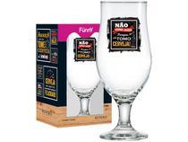 Taça de Cerveja de Vidro 330ml Ruvolo - Funny