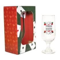 Taça de Cerveja Poker 300mL - Unika -