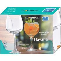 Taça de Gin Vidro 620ml  Havana -  2 Unidades - Vicrila