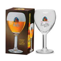 Taça original cerveja leffe (330ml) -