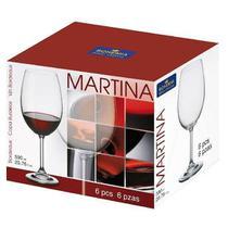 Taças Bohemia Royal Crystal para vinho 590ml - Martina Jg 6 un -