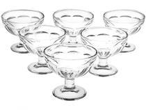 Taças de Sobremesa em Vidro 183ml 6 peças - Casambiente -