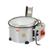 Tacho elétrico para fritura  bacia esmaltada 3,5 lt  c/ peneira th.1.301/302 marchesoni -