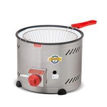 Tacho para fritura a gas com peneira cuba inox 3,5 lts bx pressão - Marchesoni